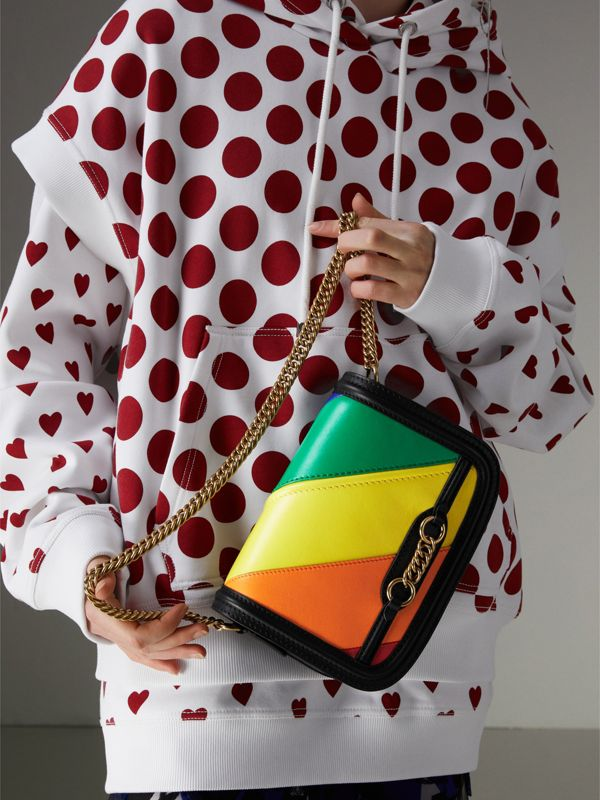 The Rainbow Leather Link Bag - Women | Burberry United States - cell image 3