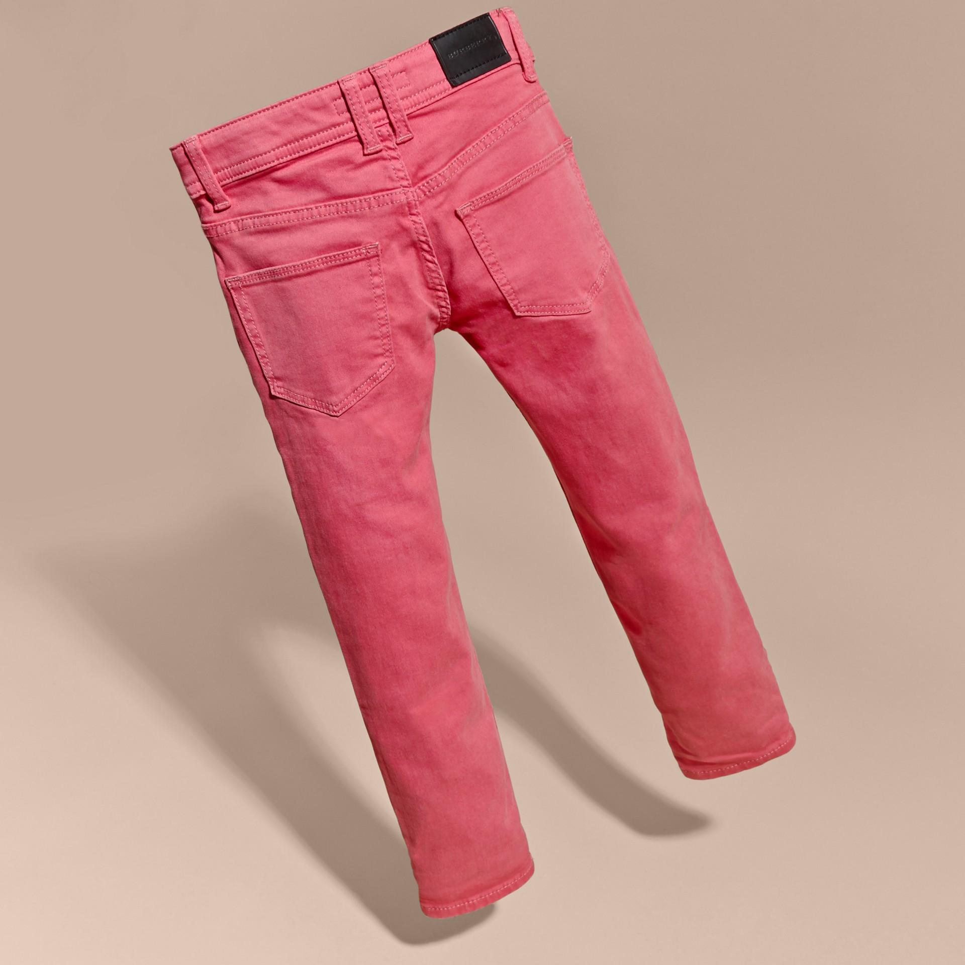 Skinny Fit Jeans Pink Azalea - gallery image 4
