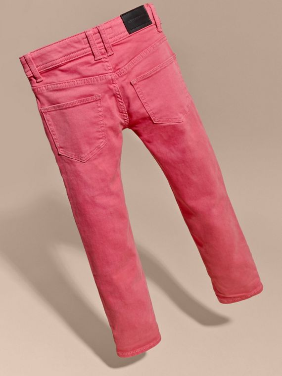 Skinny Fit Jeans in Pink Azalea - cell image 3