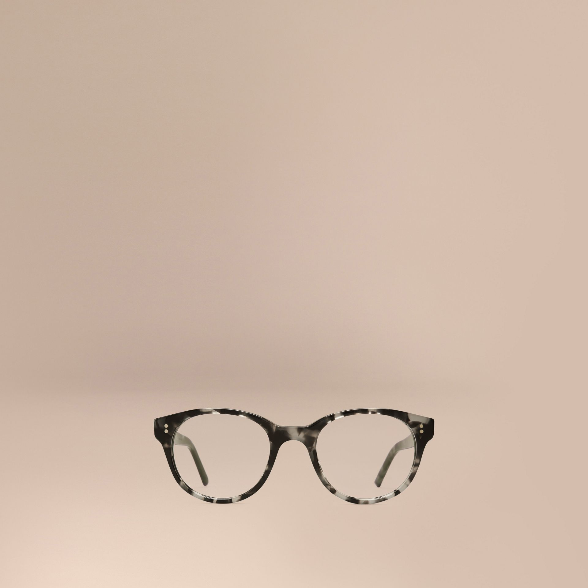 Round Optical Frames Grey - gallery image 2