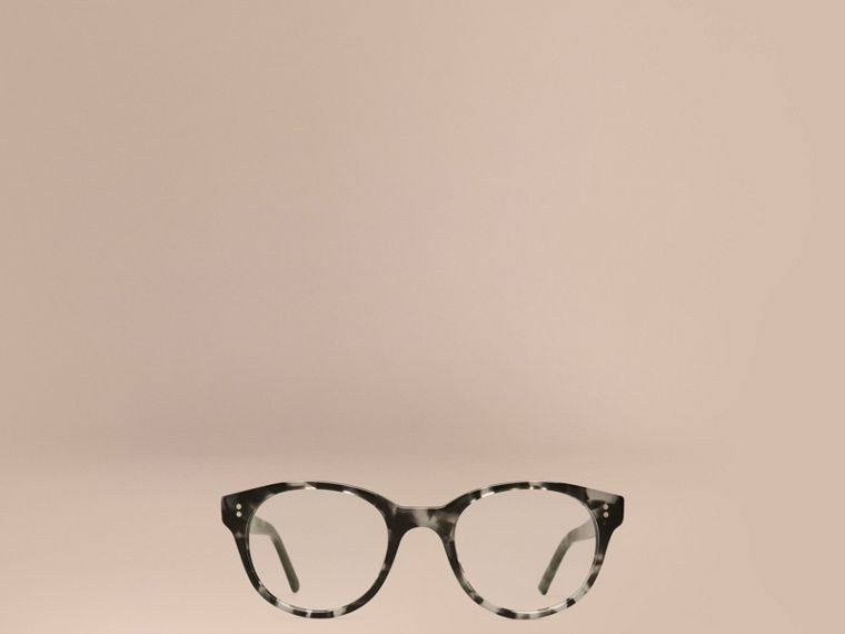 Round Optical Frames Grey - cell image 1
