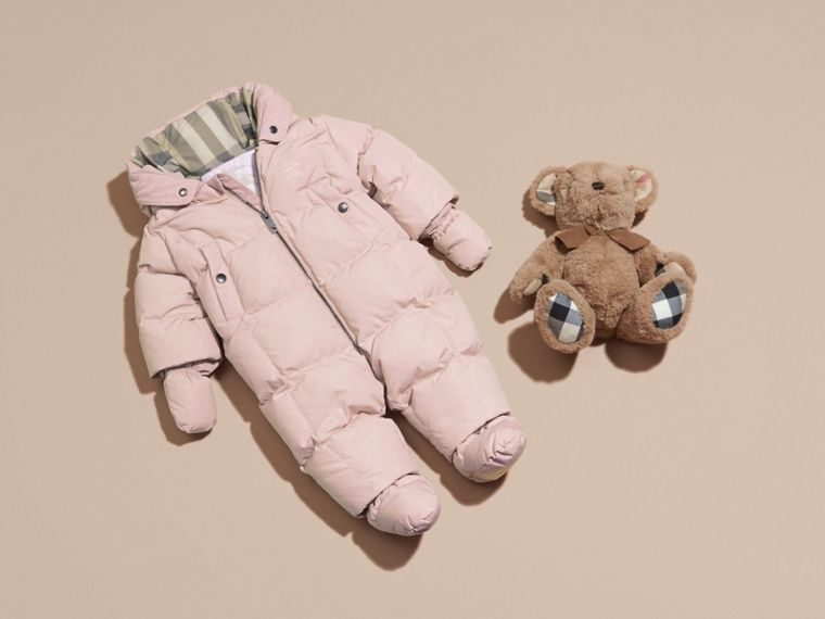 Powder pink Down-filled Puffer Suit Powder Pink - cell image 4