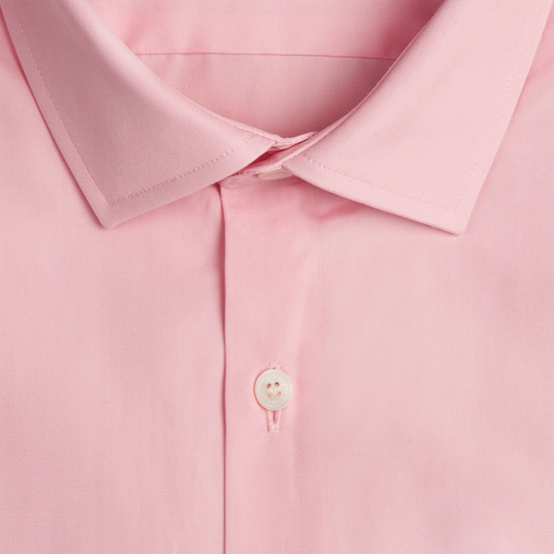 City pink Modern Fit Double-cuff Cotton Poplin Shirt City Pink - gallery image 2