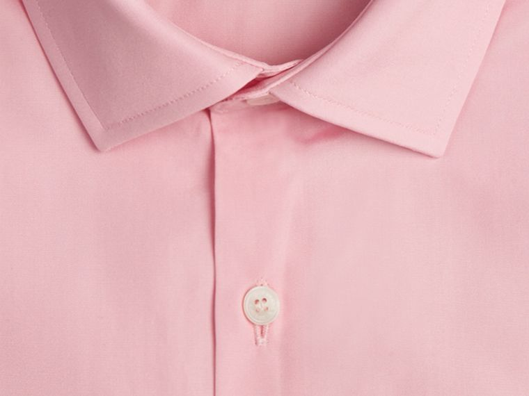 City pink Modern Fit Double-cuff Cotton Poplin Shirt City Pink - cell image 1