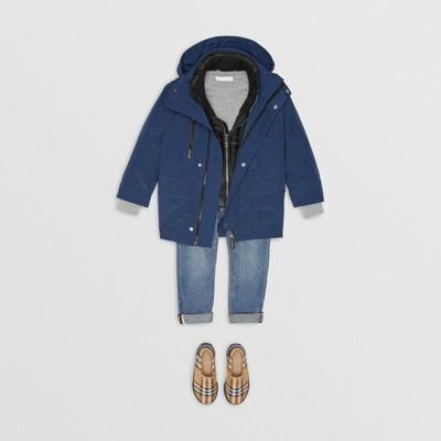 Burberry - Parka à capuche avec veste matelassée en duvet - 3