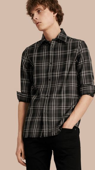 Check Wool Shirt