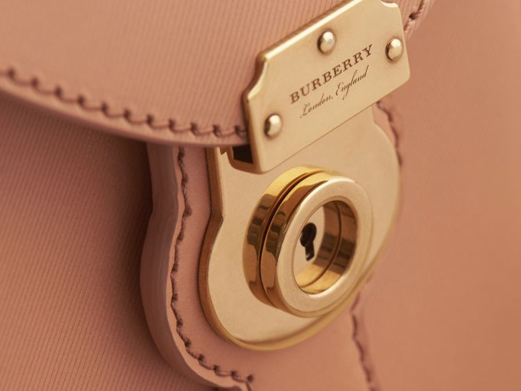 The Small DK88 Satchel with Alligator in Pale Clementine - Men | Burberry - cell image 1