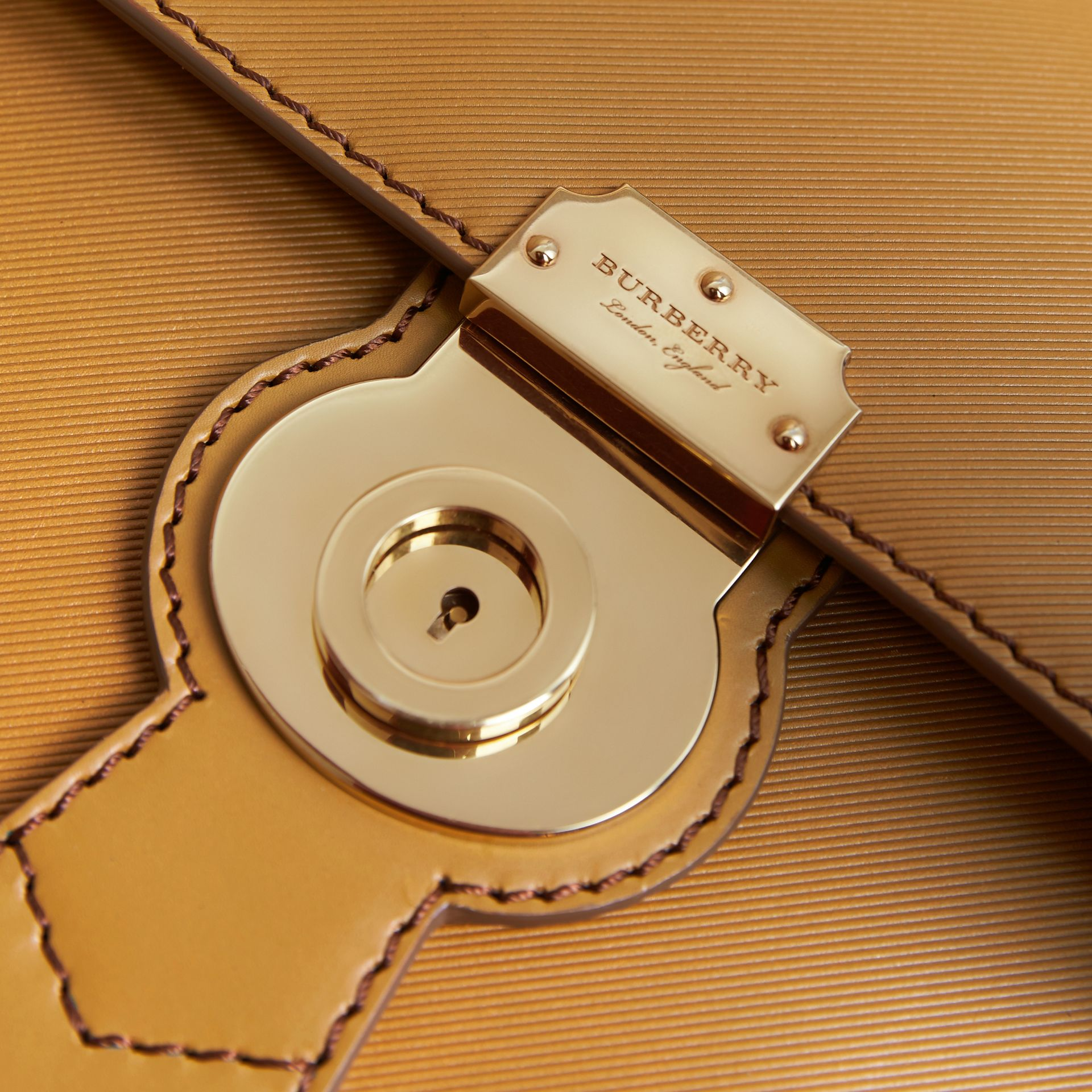 The DK88 Document Case in Ochre Yellow - Men | Burberry Australia - gallery image 2