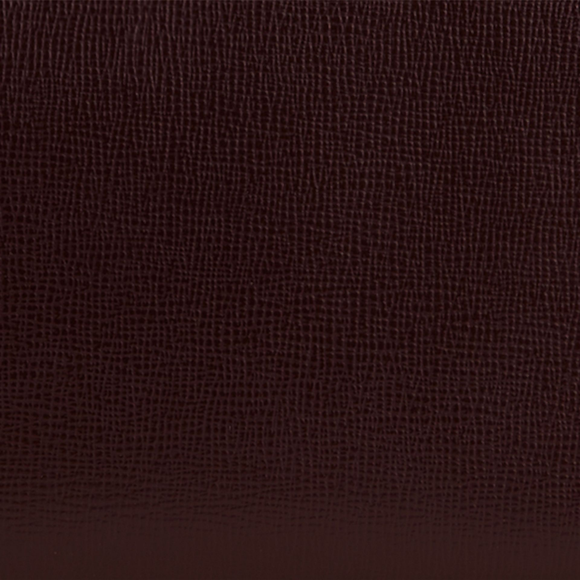 Wine London Leather Ziparound Wallet Wine - gallery image 2