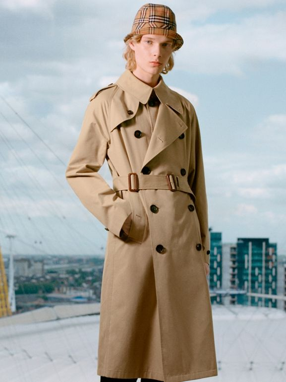 Gosha x Burberry Reconstructed Trench Coat in Honey | Burberry Singapore - cell image 1