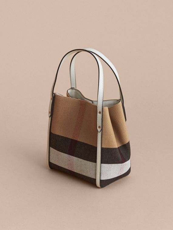 Canvas Check Tote Bag | Burberry - cell image 2