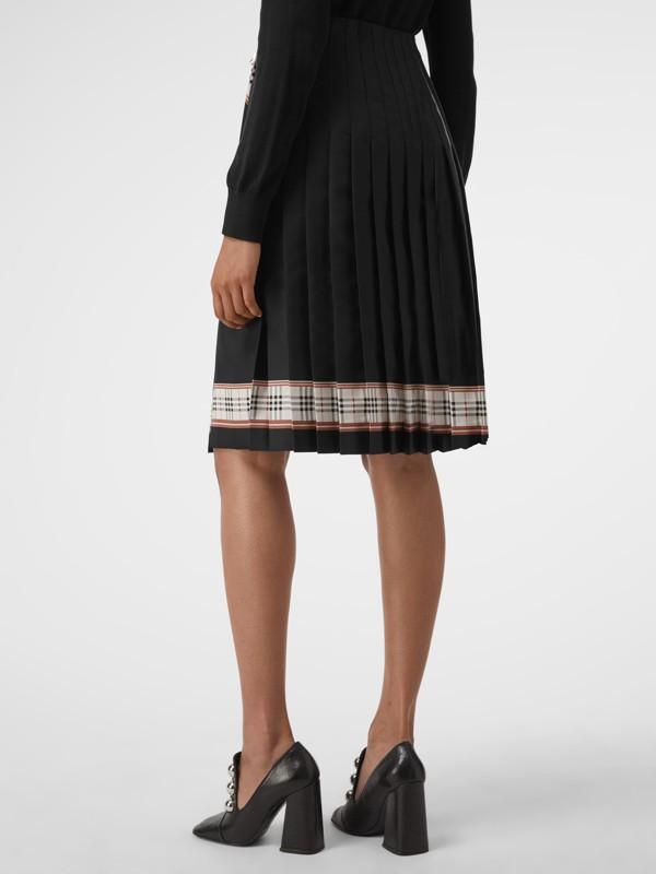 Saia estilo kilt com estampa de lenços (Multicolorido) - Mulheres | Burberry - cell image 2