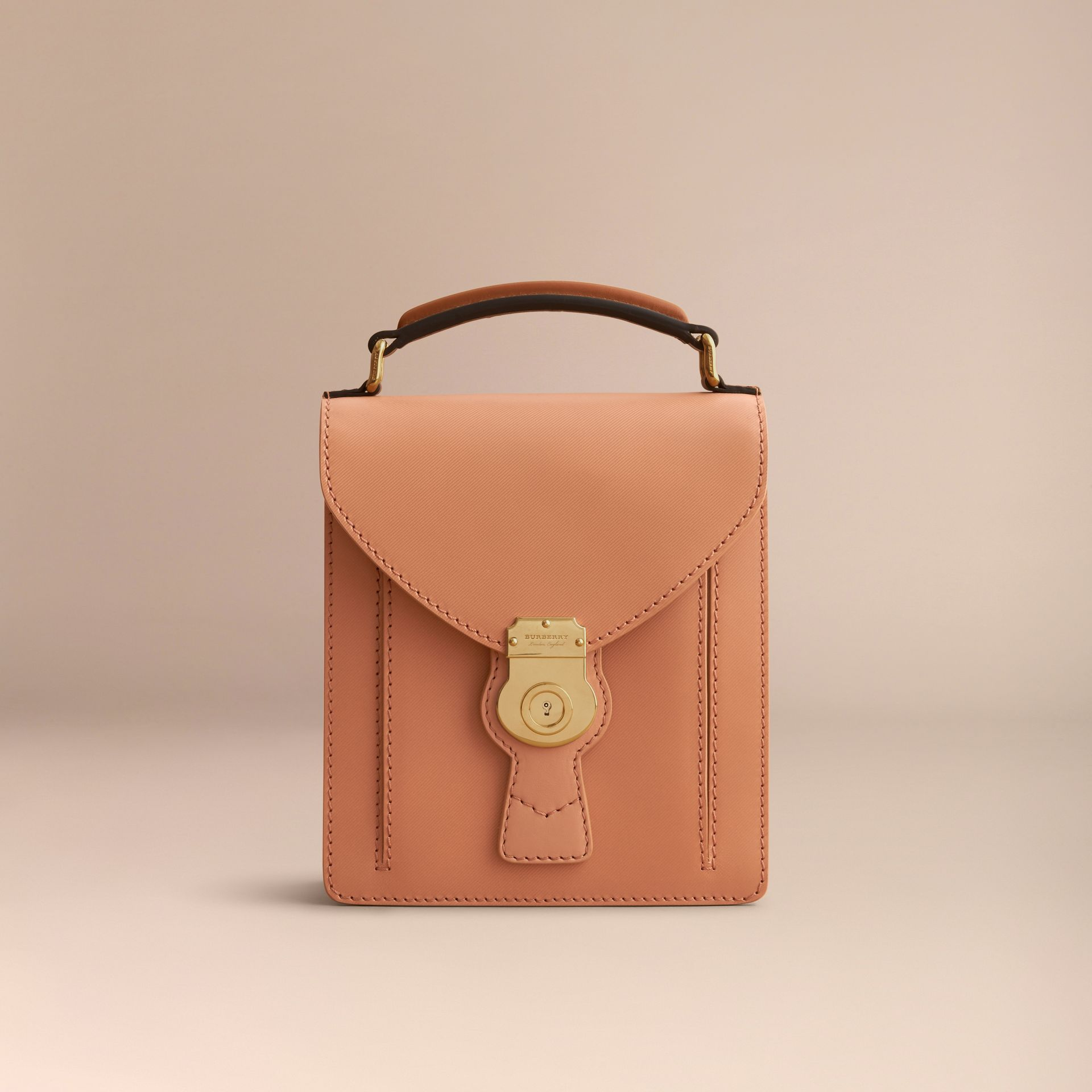 The Small DK88 Satchel in Pale Clementine - Men | Burberry - gallery image 7