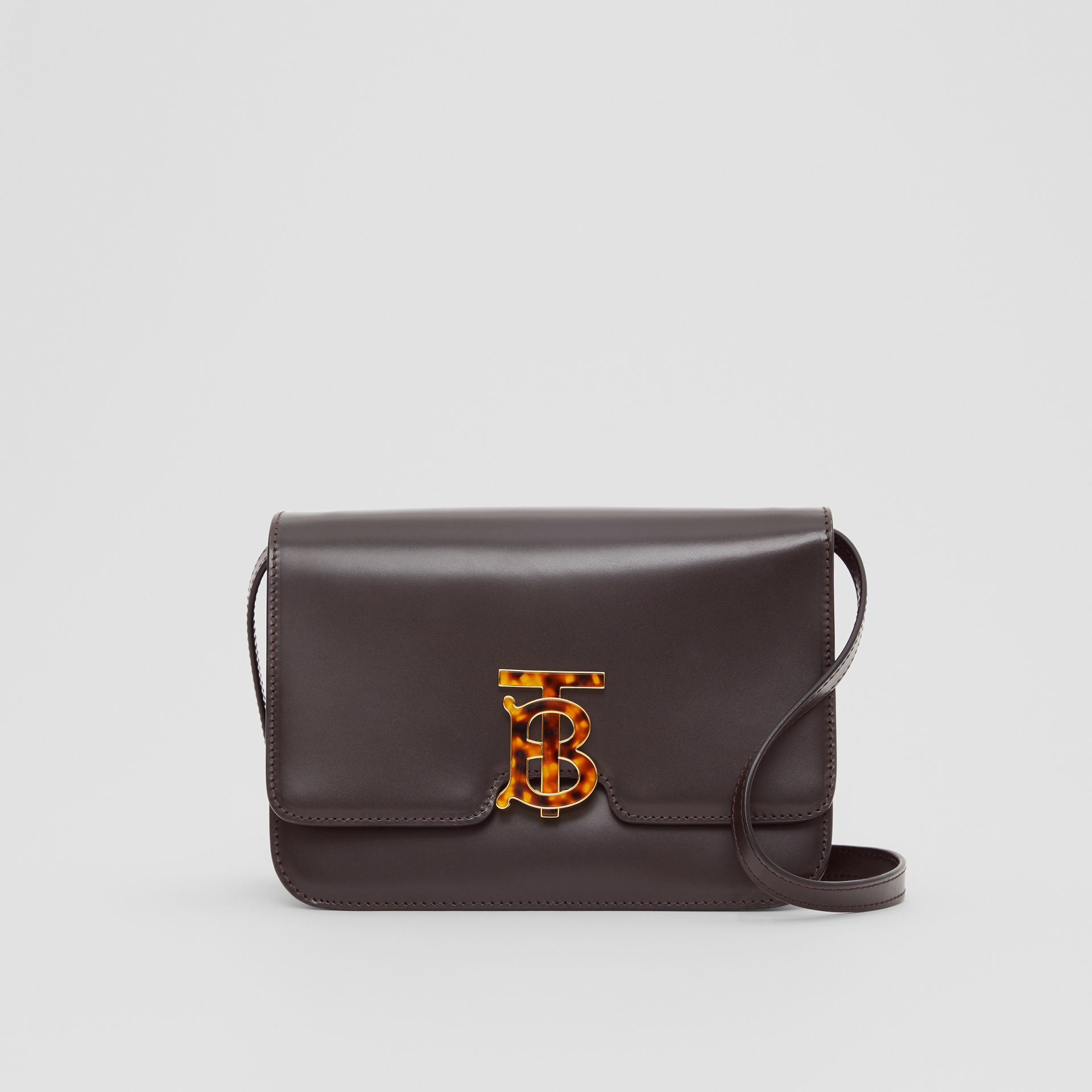 Small Leather TB Bag in Coffee - Women | Burberry - gallery image 0