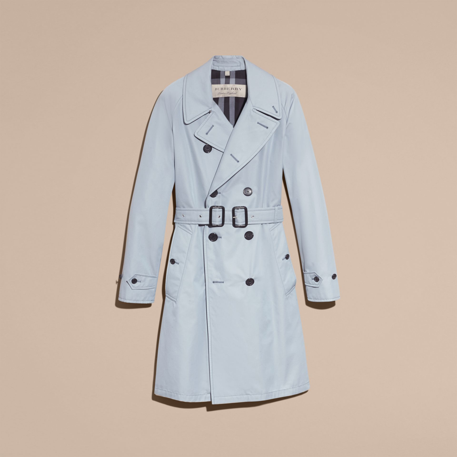 Cotton Trench Coat - gallery image 4