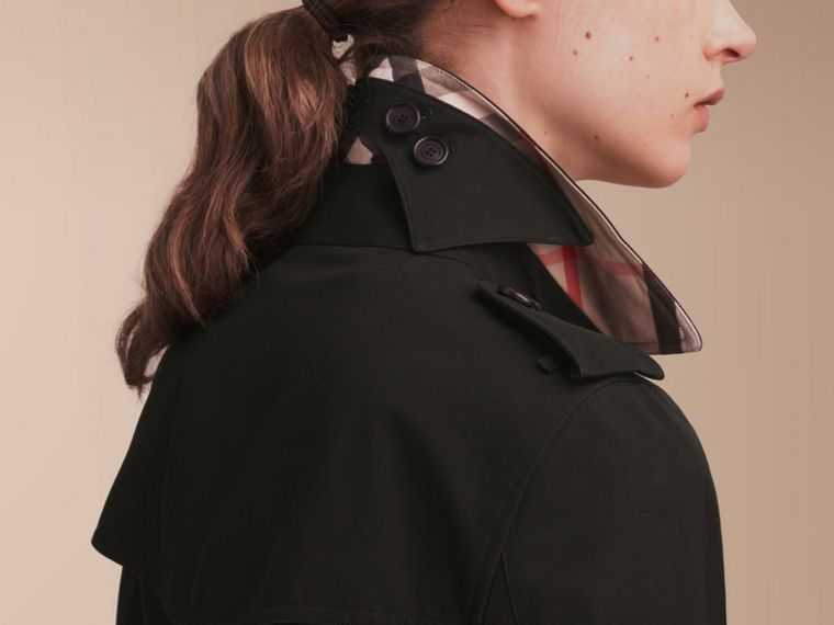 The Kensington – Trench coat Heritage médio (Preto) - cell image 4