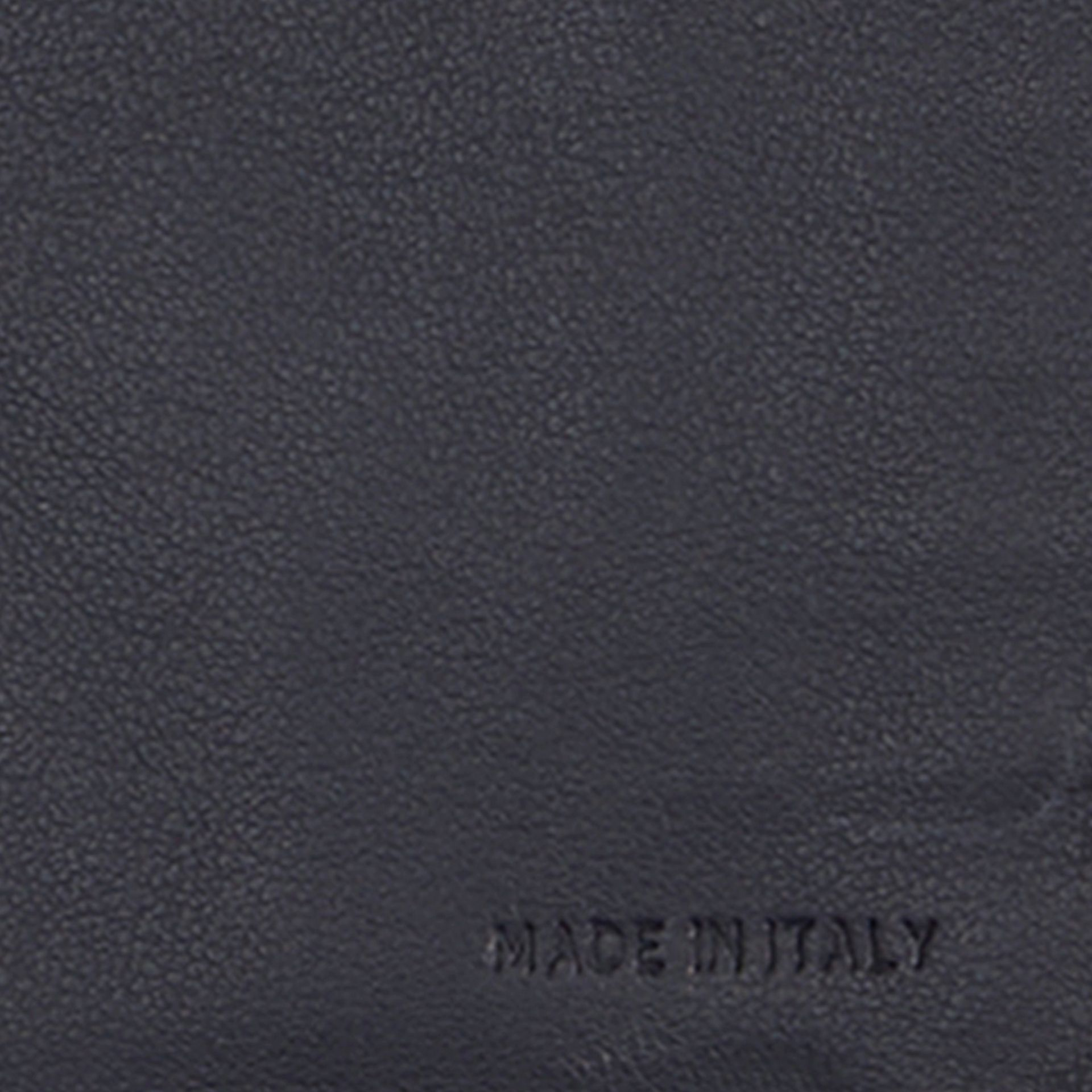 Dark pewter blue Embossed Check Leather Continental Wallet Dark Pewter Blue - gallery image 2