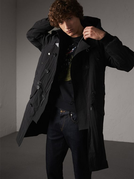 Rainproof Flyweight Parka - Men | Burberry Australia