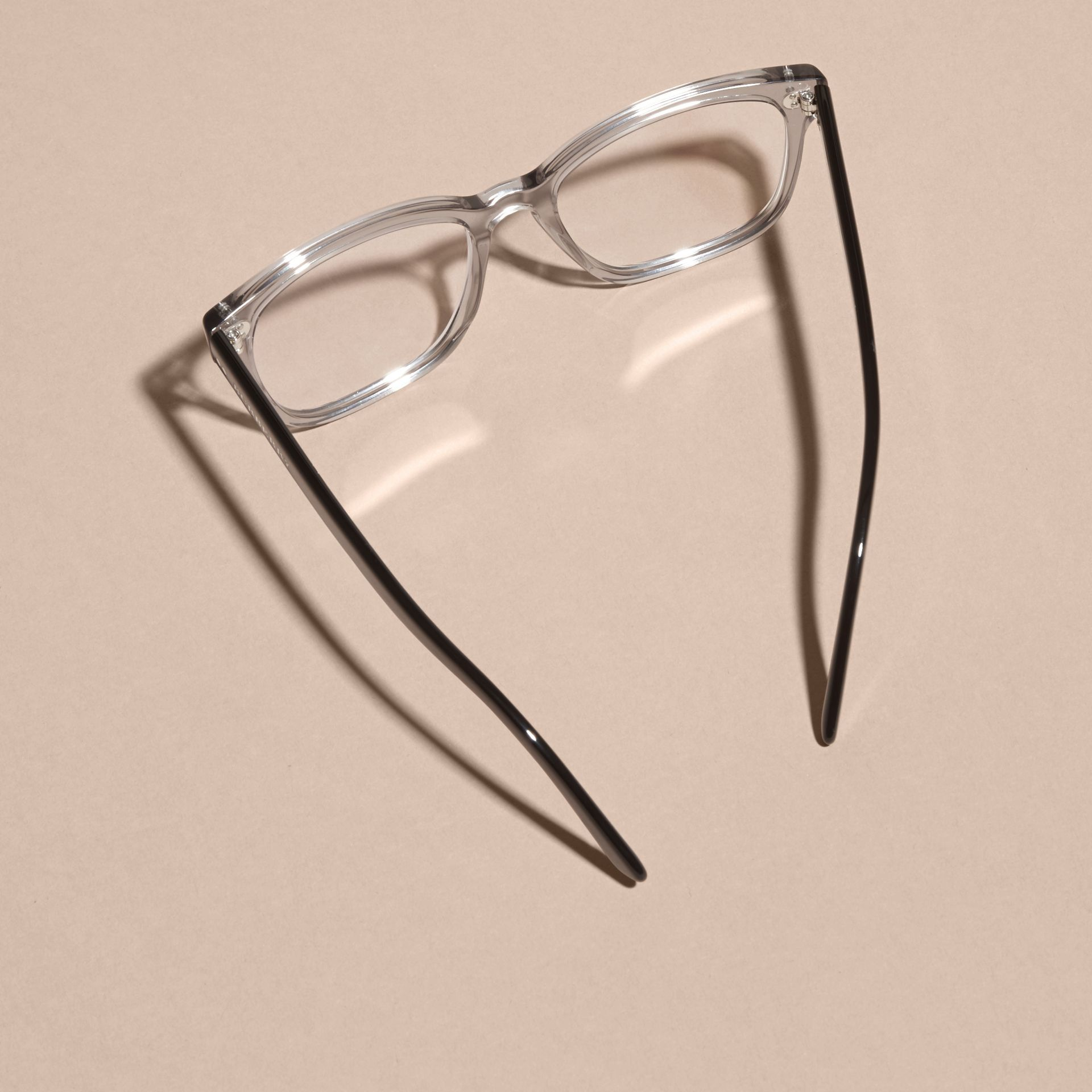 Square Optical Frames Grey - gallery image 3