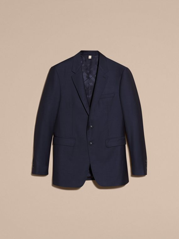 Modern Fit Wool Silk Full-canvas Suit - cell image 3