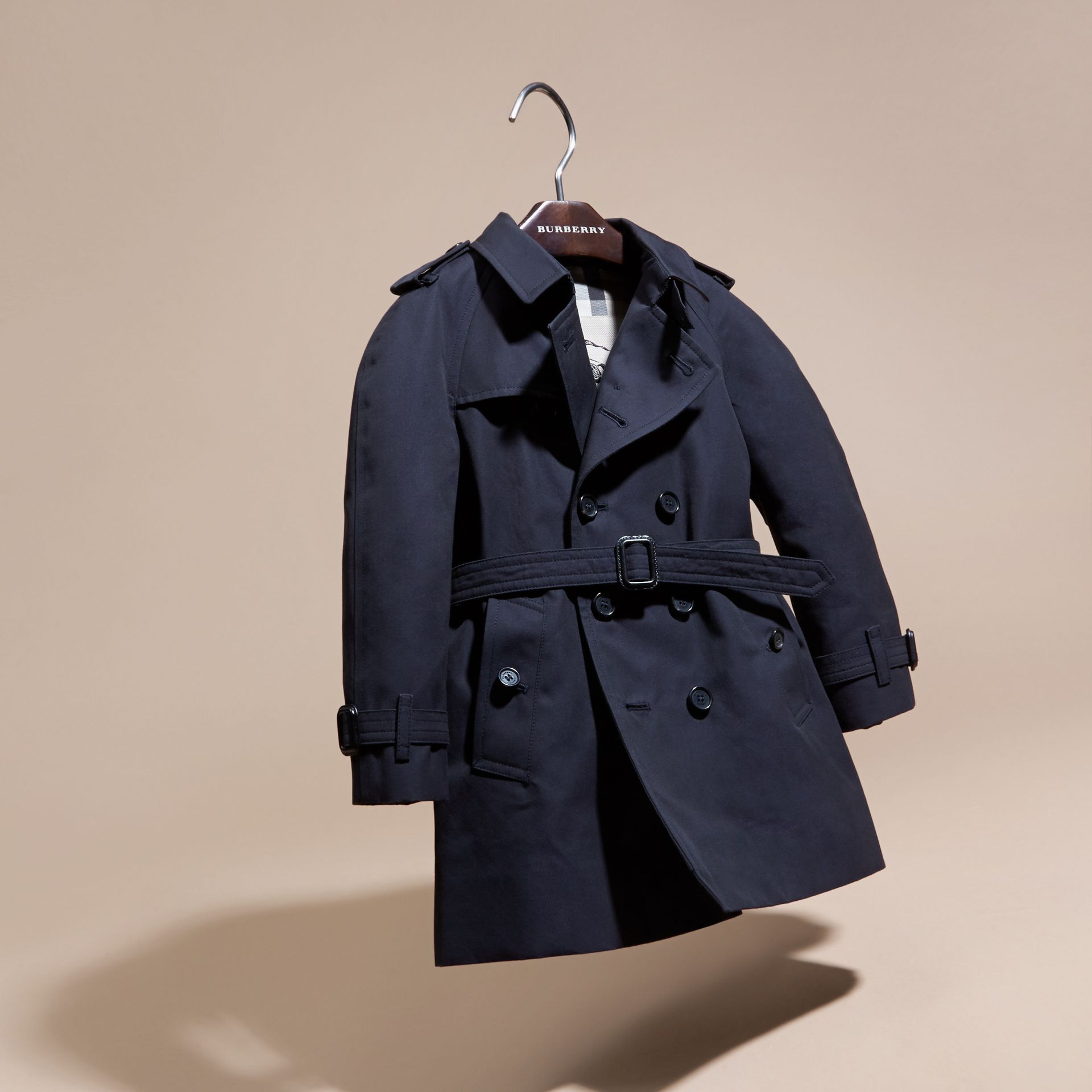 The Wiltshire – Heritage Trench Coat Navy - gallery image 3