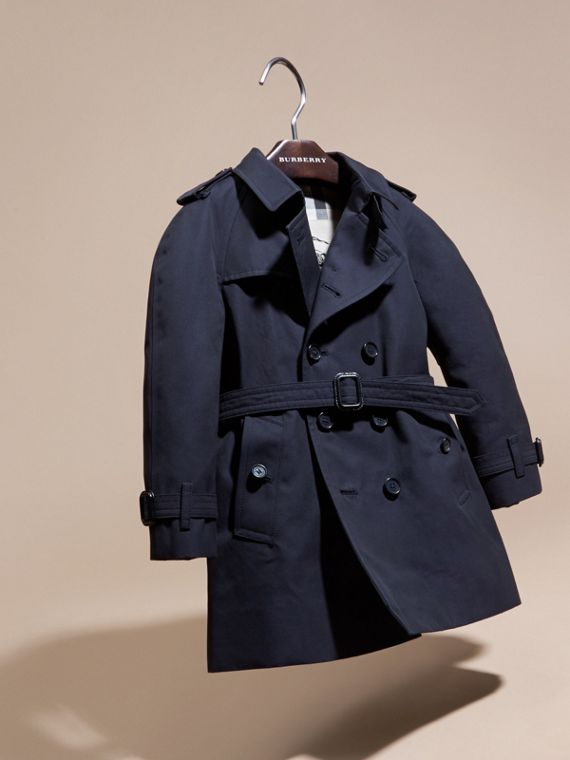 The Wiltshire - Trench coat Heritage (Navy) - cell image 2
