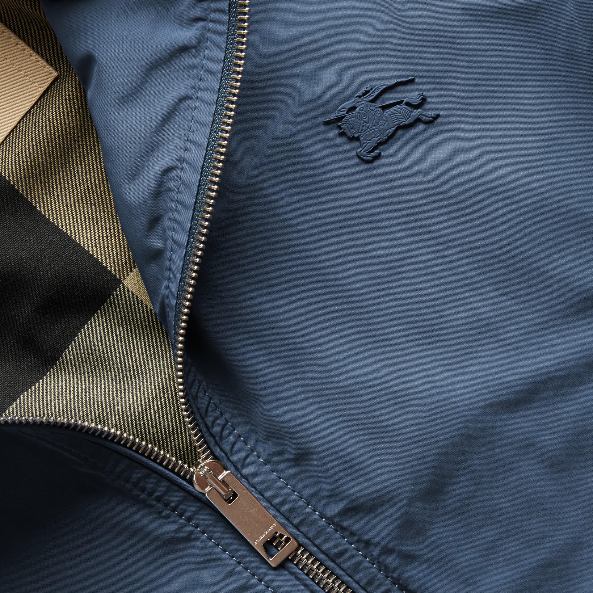 라이트 테크니컬 재킷 스틸 블루 - 갤러리 이미지 2