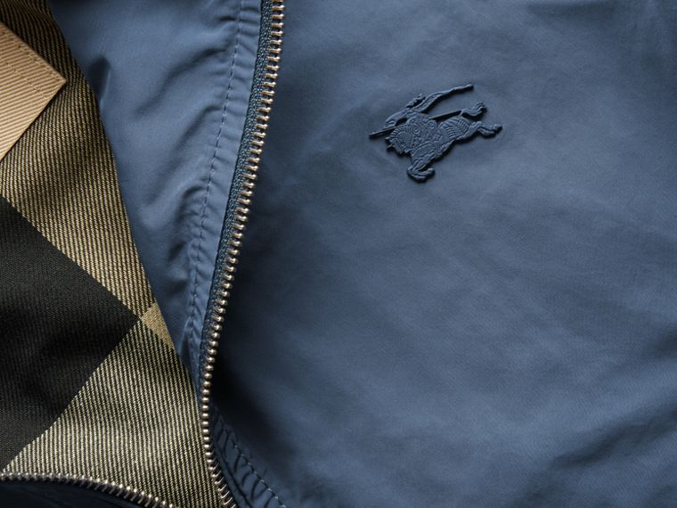 Lightweight Technical Jacket in Steel Blue - Men | Burberry - cell image 1