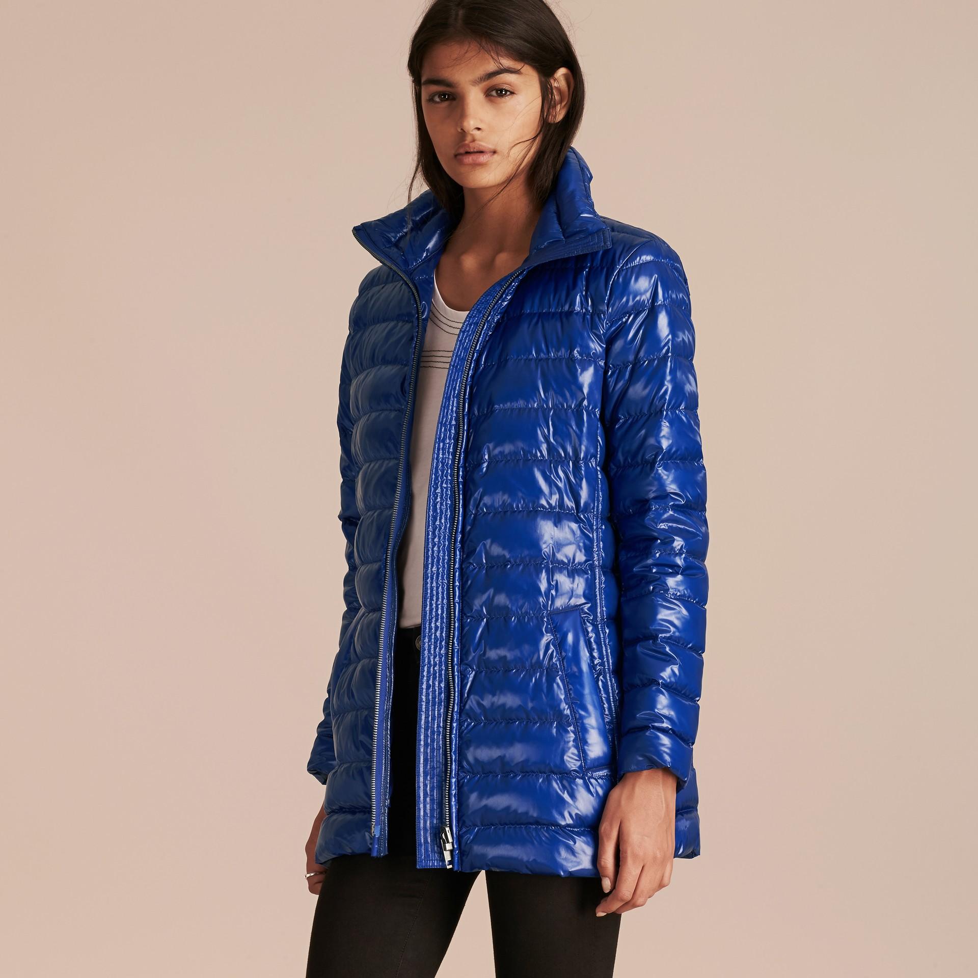 Ink blue Fur-trimmed Parka with Detachable Down-filled Jacket Ink Blue - gallery image 7