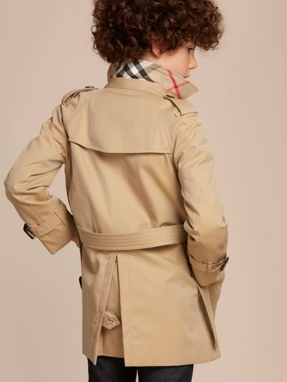 The Wiltshire – Heritage Trench Coat in Honey - cell image 3