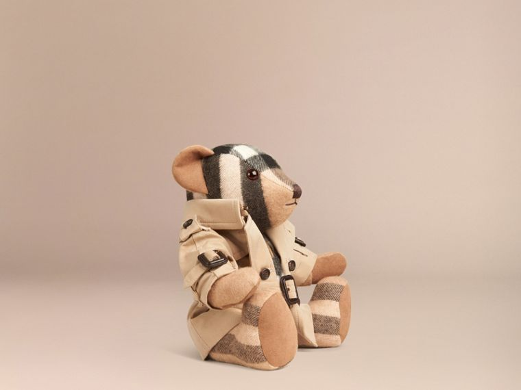 Mr Trench Thomas Bear in Cashmere in Camel | Burberry Hong Kong - cell image 2