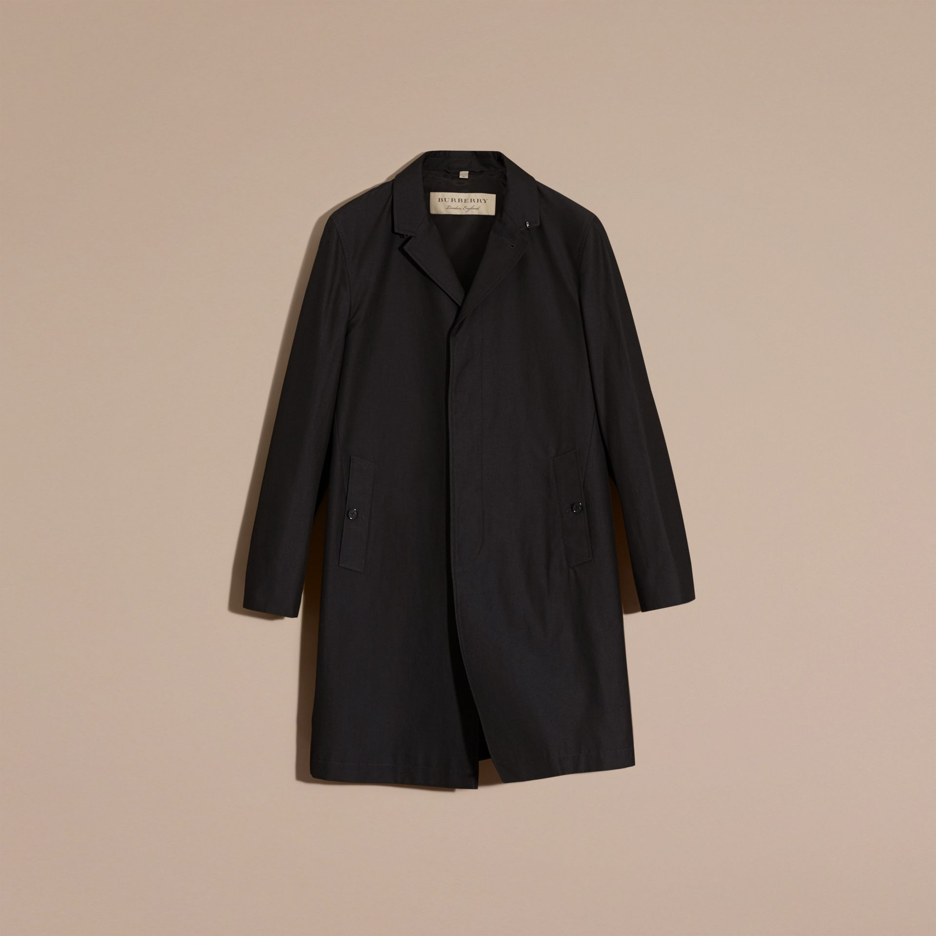 Mercury Cotton Gabardine Car Coat - gallery image 4