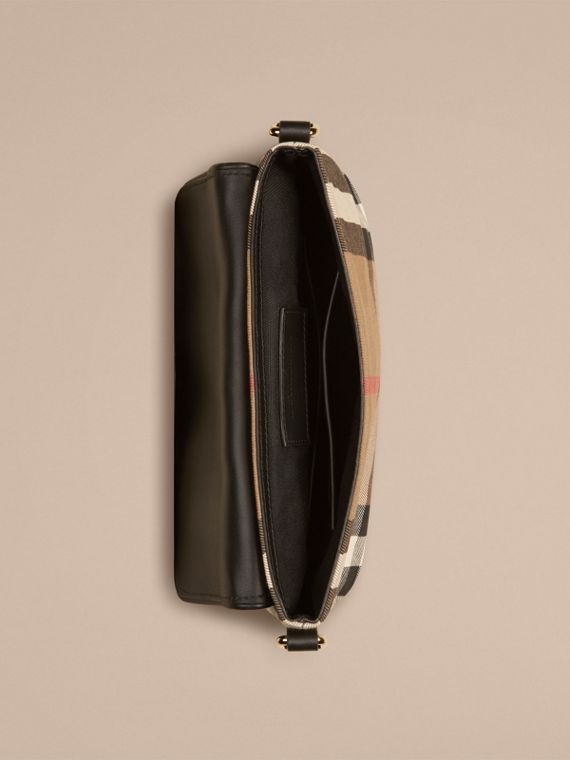 Black House Check Satchel - cell image 3