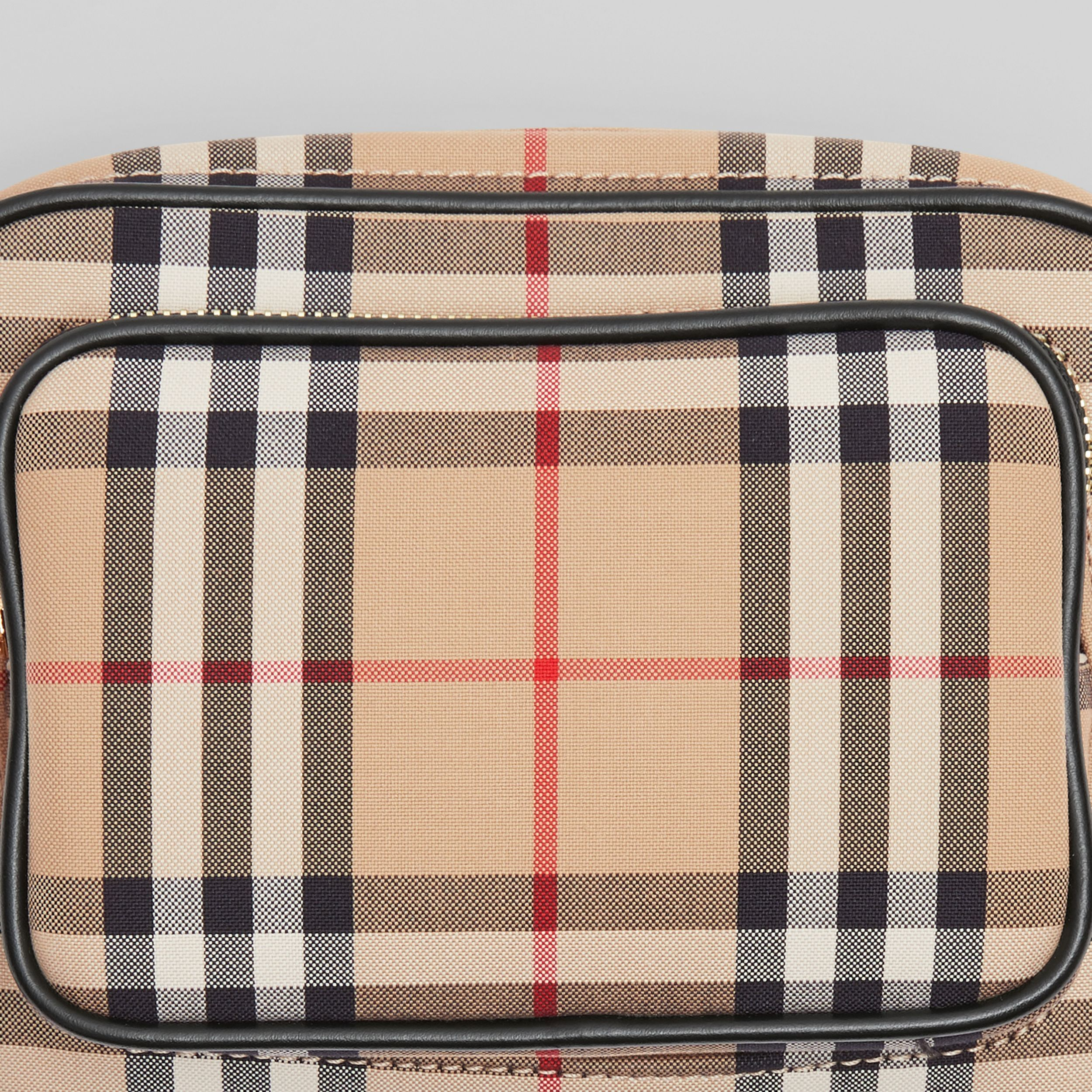 Camera bag in cotone con motivo Vintage check (Beige Archivio) | Burberry - 2