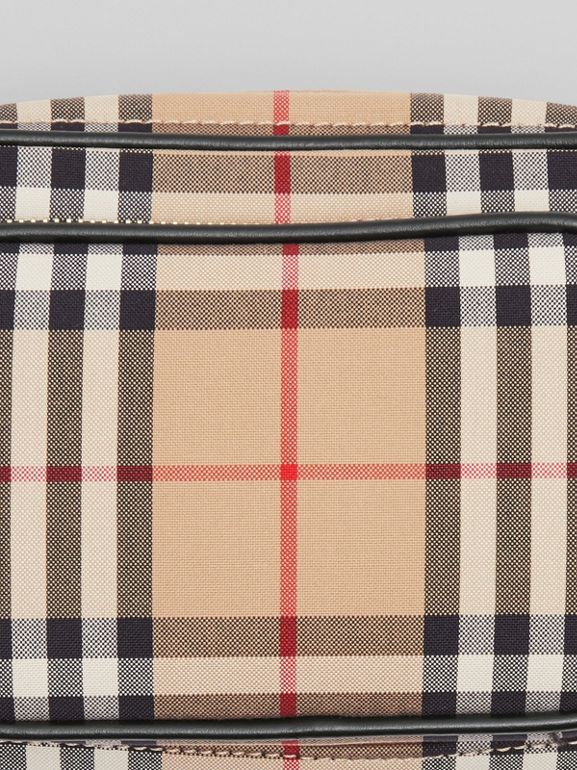 Vintage Check Cotton Camera Bag in Archive Beige | Burberry Singapore - cell image 1