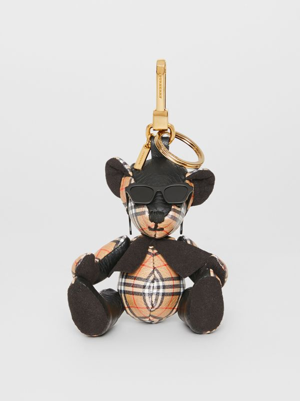 Adorno do Thomas Bear com óculos de sol (Preto/amarelo Antigo) | Burberry - cell image 2
