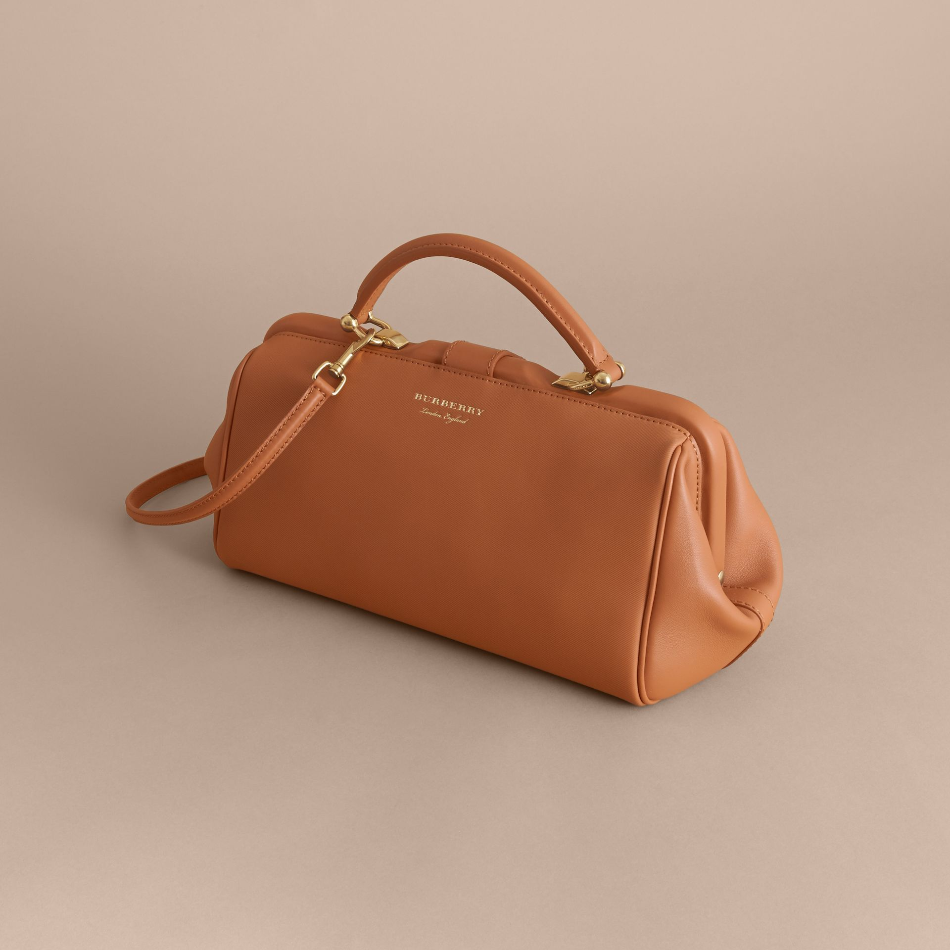 The DK88 Bowling Bag in Bright Toffee - Women | Burberry - gallery image 4