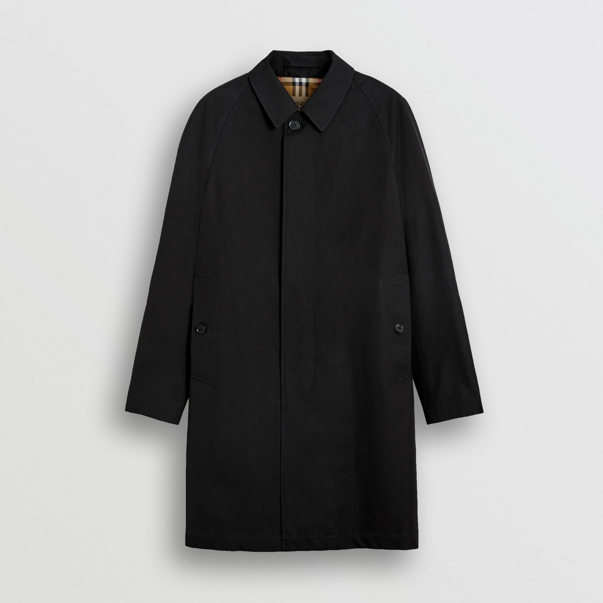 The Camden Car Coat in Black - Men | Burberry United Kingdom - gallery image 3