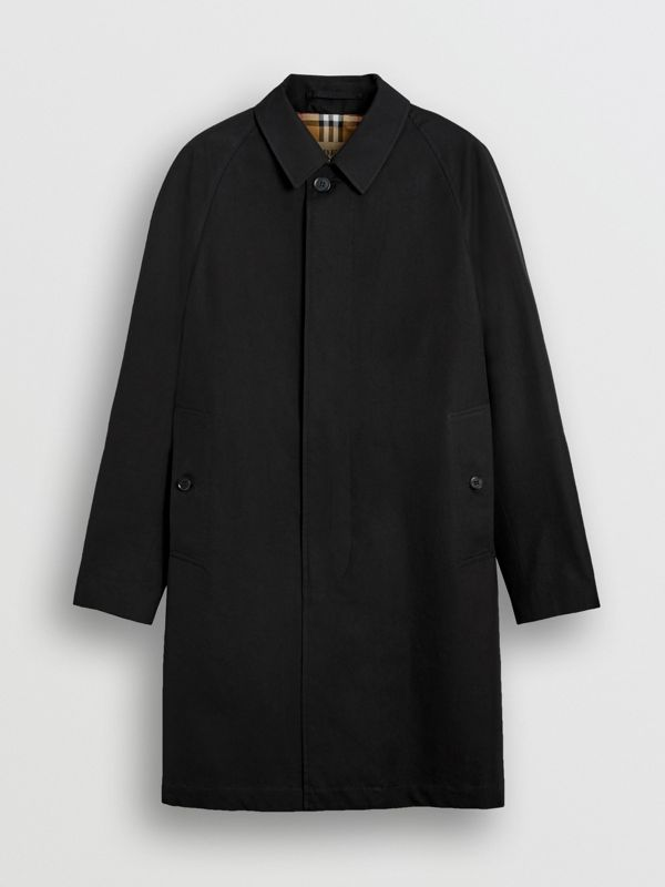 The Camden Car Coat in Black - Men | Burberry United Kingdom - cell image 3