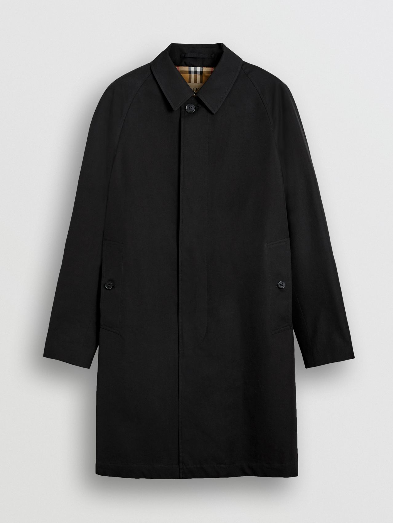 The Camden - Car Coat in Preto