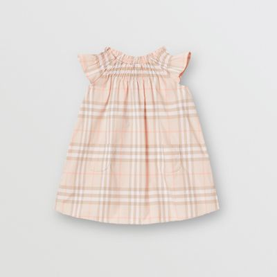 Clothing, Shoes & Accessories Burberry Babby Girl Dress 6m Fixing Prices According To Quality Of Products Dresses