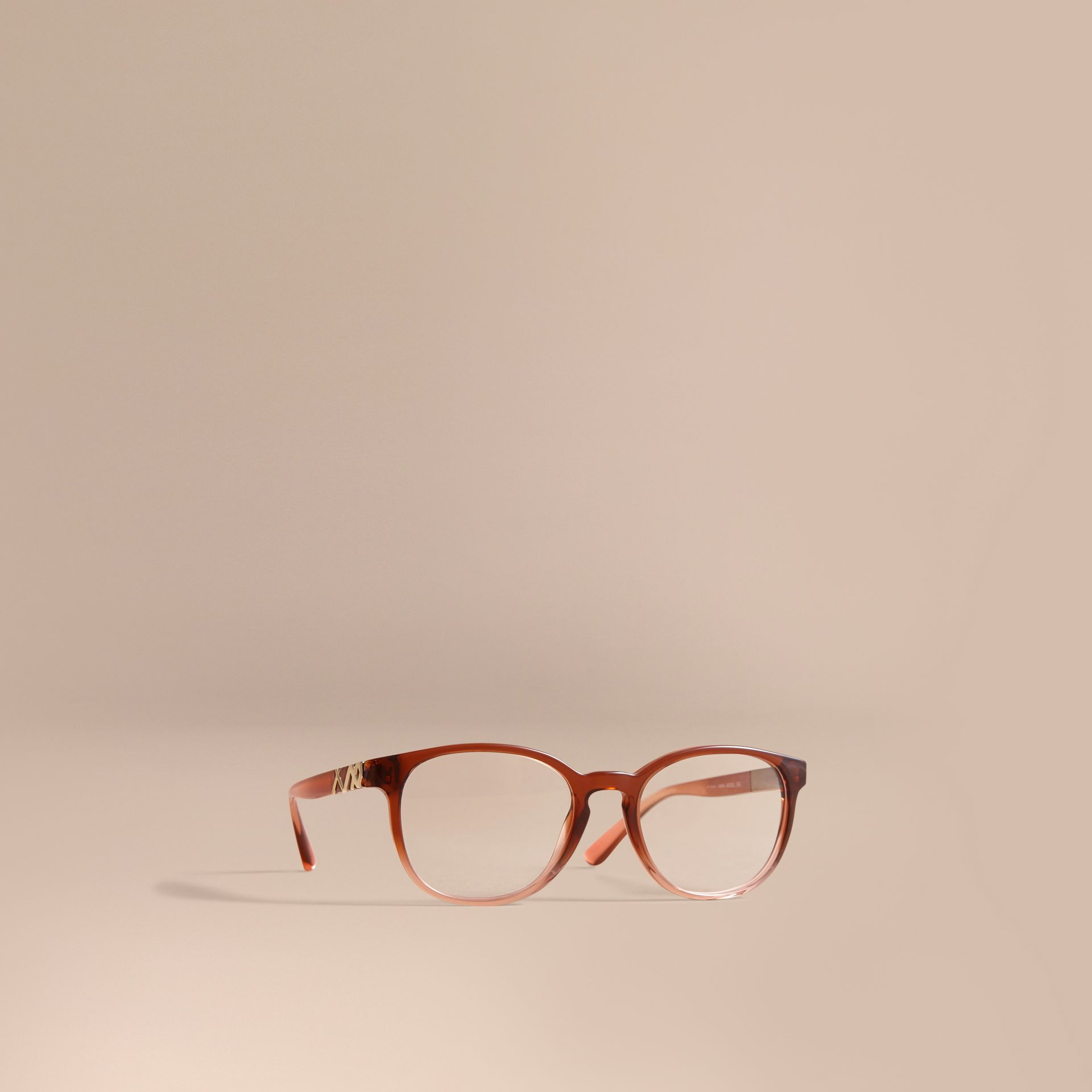 Check Detail Round Optical Frames - gallery image 1