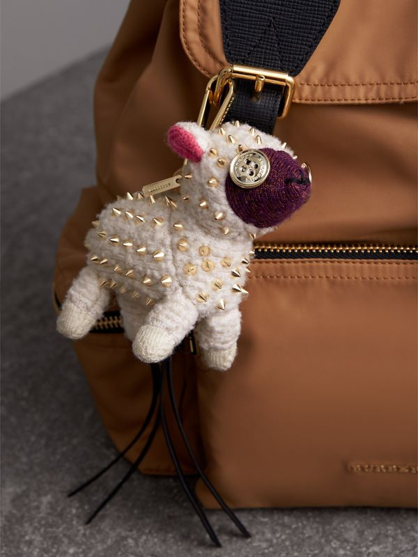 Adorno de cashmere Wendy The Sheep (Branco) | Burberry - cell image 2