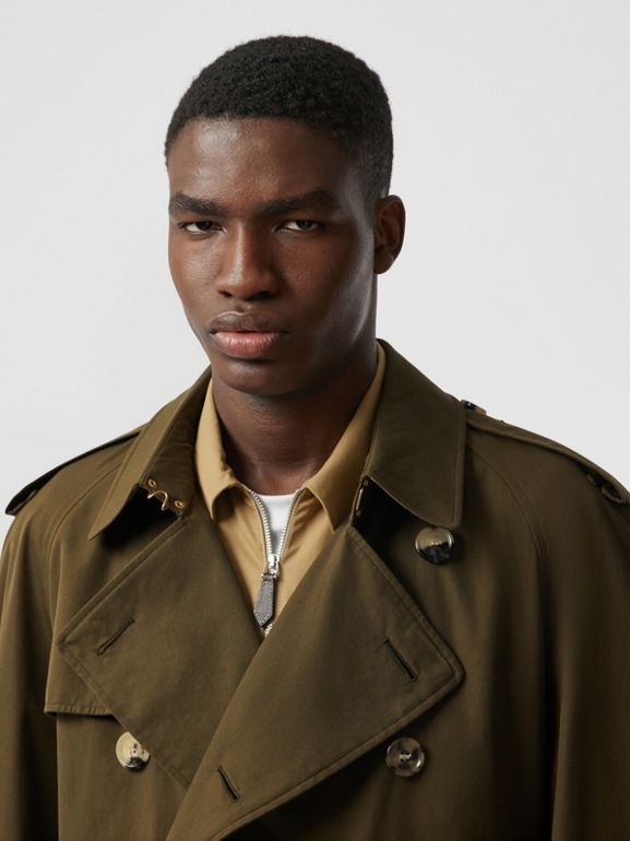 The Westminster Heritage Trench Coat in Dark Military Khaki - Men | Burberry Hong Kong S.A.R - cell image 1