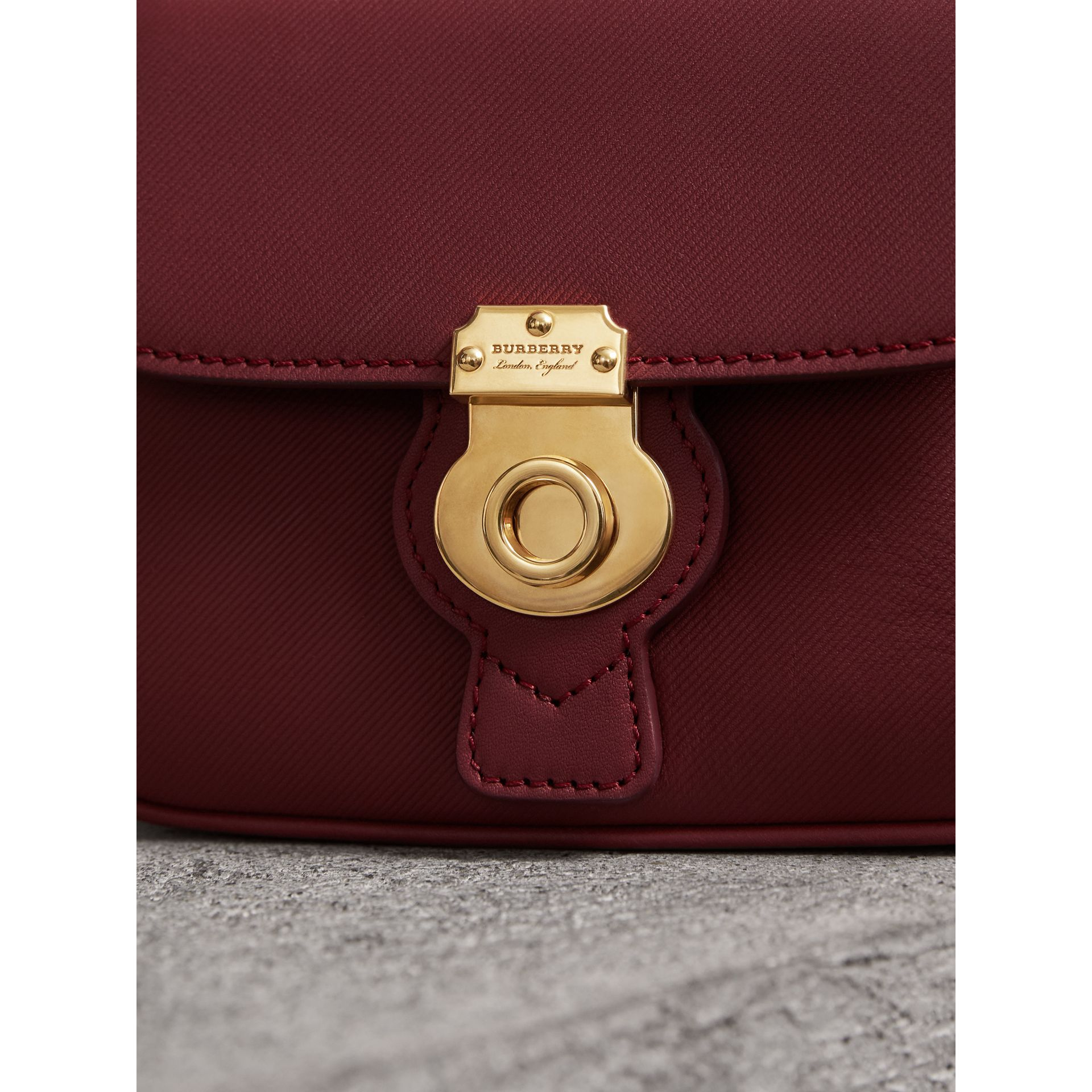 The Mini DK88 Top Handle Bag in Antique Red - Women | Burberry United Kingdom - gallery image 1