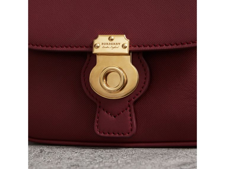 The Mini DK88 Top Handle Bag in Antique Red - Women | Burberry United Kingdom - cell image 1