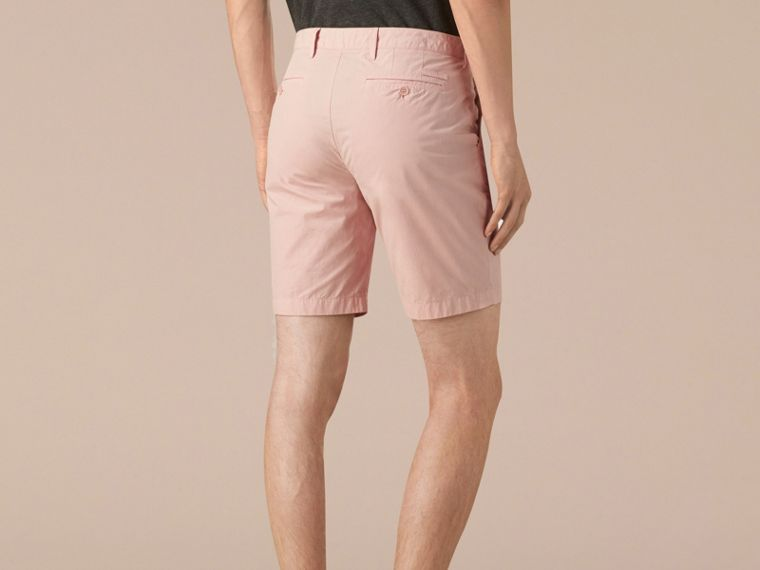 Chalk pink Cotton Poplin Chino Shorts Chalk Pink - cell image 1