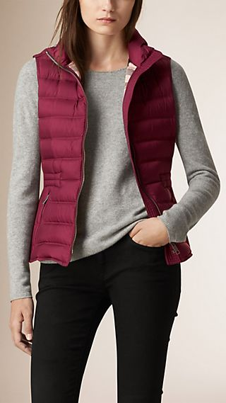 Down Filled Quilted Gilet