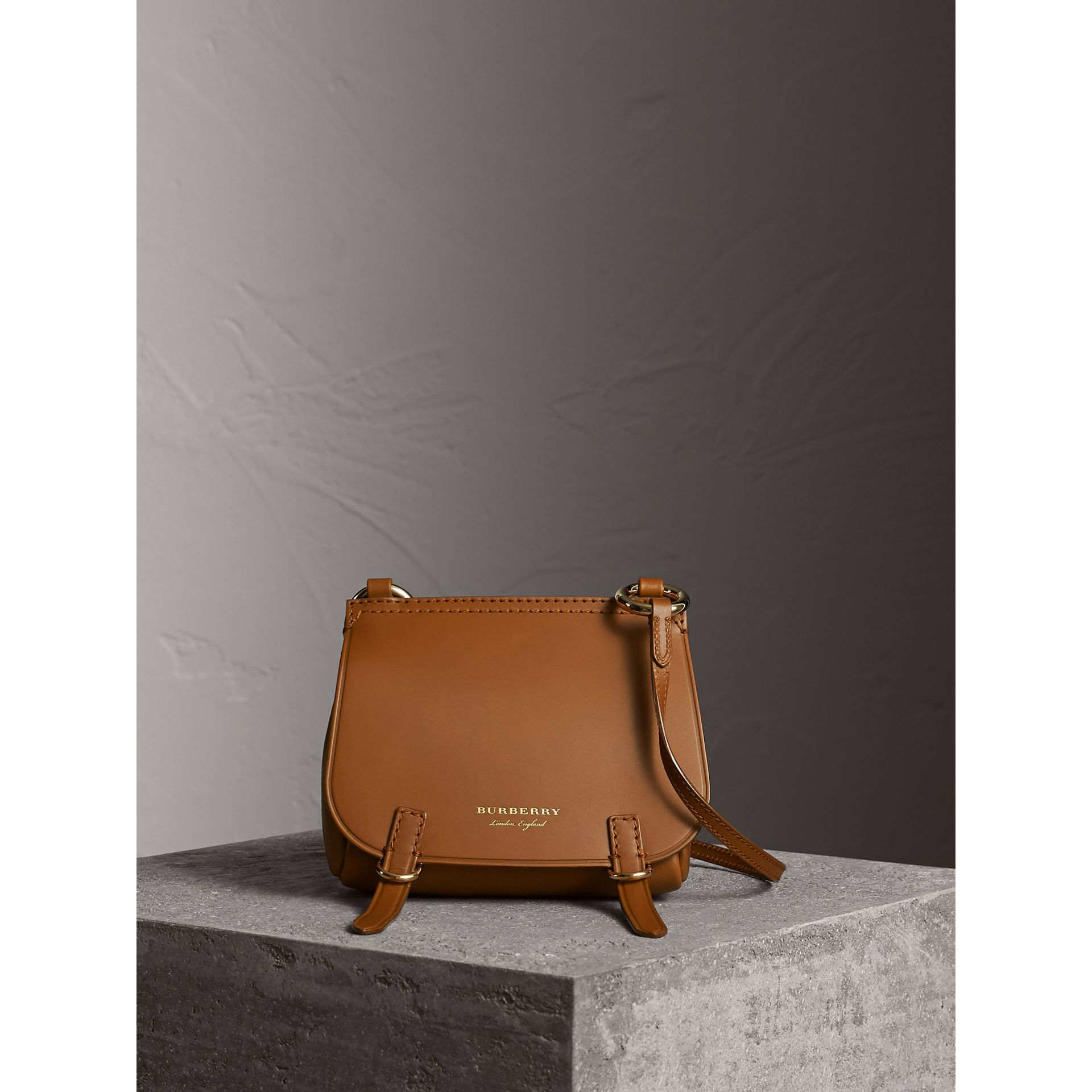 The Baby Bridle Bag in Leather in Tan - gallery image 7
