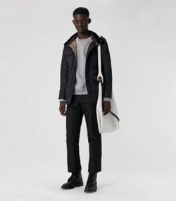 Стеганая полевая куртка с терморегуляцией (Темно-синий) e928bf1dfa8